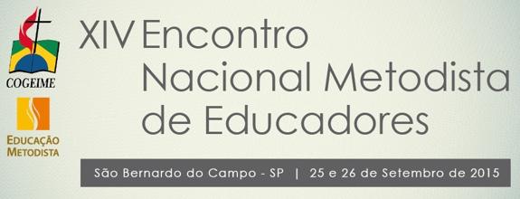 XIV Encontro Nacional Metodista de Educadores – ENAME será transmitido ao vivo