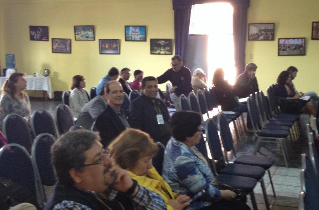 Educação Metodista marca presença em evento da ALAIME, no Chile